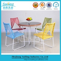 Hot Sell Promotion Outdoor Wicker Picnic Table Chair Set