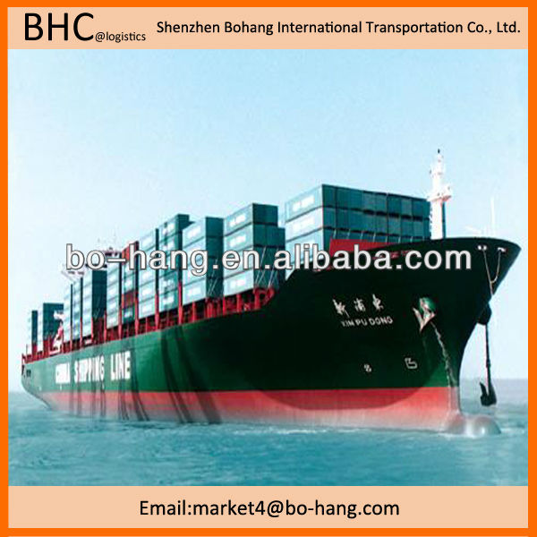 Tablet PC sea freight from shenzhen to jacksonville