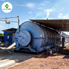 10T Waste Tyre Pyrolysis Recycling To Diesel Machine Sold to 52 Different Countries