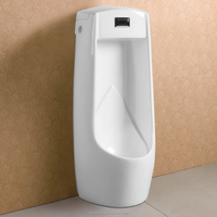 Floor Standing Automatic Sensor Available Ceramic Urinal