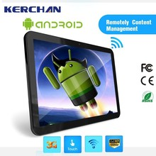 18.5 Inch tablet pos , android 4.4 tablet ,shelf mount digital signage player