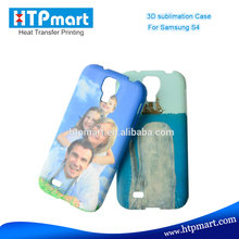 Free sample mobile phone cover 3D sublimation blank hard case printing for Samsung Galaxy S4