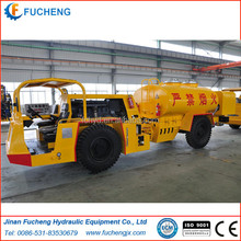 Reliable underground utility vehicle for oil transport