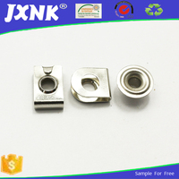 custom square metal no sew snap button for trousers