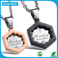 New Arrival Stainless Steel Sublimation Blanks Pendants