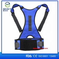 Aofeite shoulder and back support belt/ lower back brace belt/ lumbar support posture corrector for men and woman