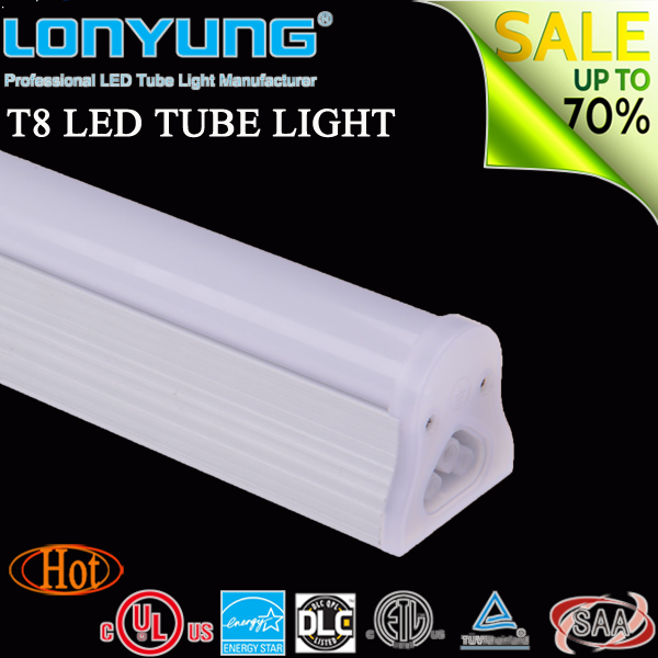 Half Spiral Energy Saver Clear/stripe/frosted 150cm 24 Watt Aquarium Led Lighting T8 Led Tube