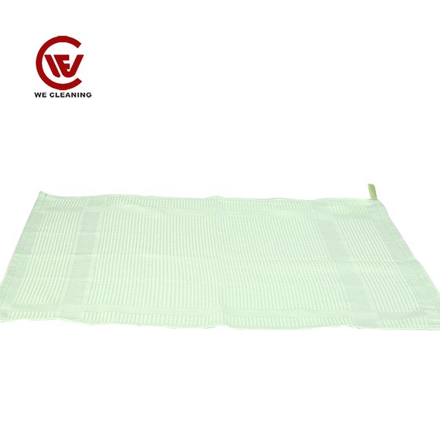 customized 80Polyester+20Polyamide dust kitchen microfiber cloth
