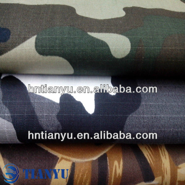 Eco-friendly camouflage waterproof military tent canvas fabric wholesale