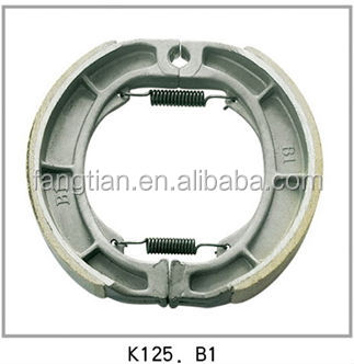 K125 Non-asbestos Motorcycle Brake Shoes
