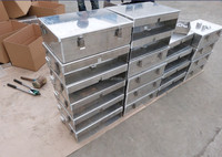 aluminum material tool case for truck, waterprool, durable toolbox, aluminum tool box