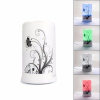 100ml Aromatherapy Essential Oil Purifier Diffuser Air Humidifier with 4 Time
