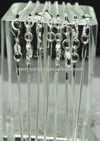 fashion 925 sterling silver snake chain , necklace chains