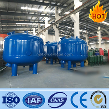 Automatic PLC Control back washing media filter (Activated carbon Filter)Quartz Sand filter for Waste Water Purification