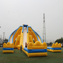 2017 Hot-selling Christmas event outdoor inflatable cheap slides for adult and kids