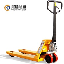 Warehouse used lifting equipment/hand pallet truck for sale in 2017