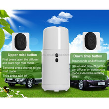 Car Humidifier Aroma Diffuser Mini Air Purifier with Auto Shut-off Function 75ML Black and White Color