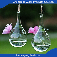 2016 New Design Eco-Friendly Transparent Different Types Glass Vase