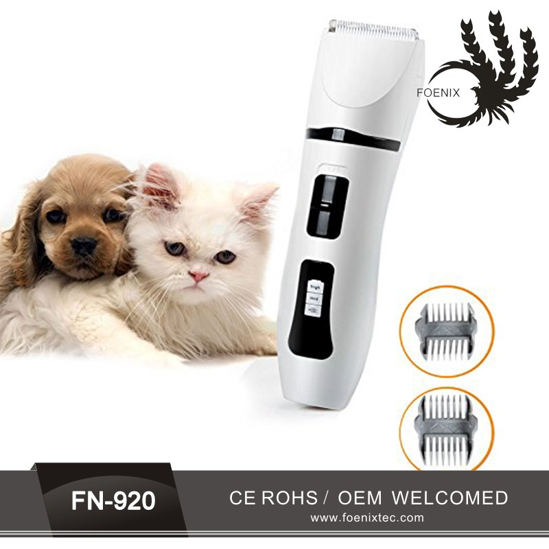 Cordless pet Classical Style Target Hair Clipper dog and animal Hair Trimmer