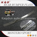 Perfect fit New arrival Stainless steel rear bumper plate for montero sport 2016~on montero accessories