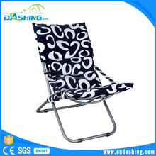 Beautiful canvas animal shape butterfly folding garden lounge chair with padded