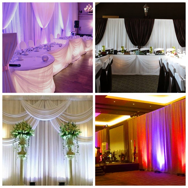 WHOLESALE pipe and drape round LOWEST PRICE cheap out door wedding pipe and drape kits