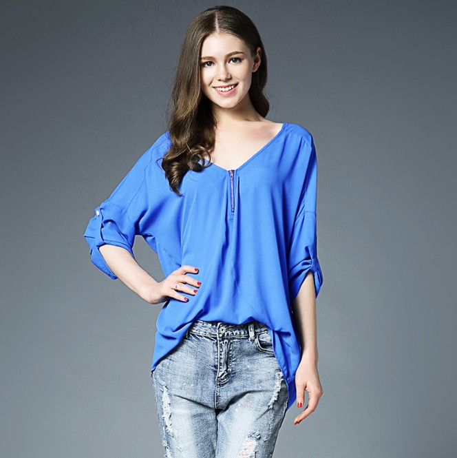 lx10004a hot sale clothes women latest fashion blouse design lady clothing