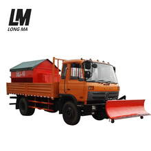 4x2 multifunction heavy-duty snow sweeper truck with snow shovel