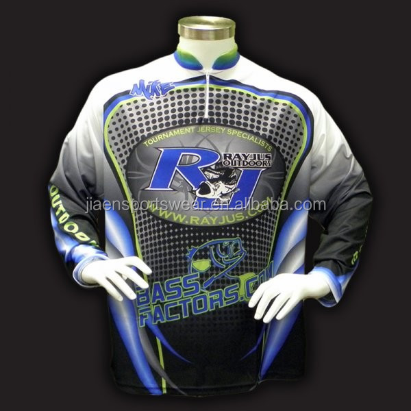 2016 latest design long sleeve quick dry customize for Tournament fishing shirts wholesale
