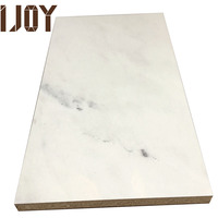 IJOY UV fashion marble grain design faced waterproof bamboo fiberboard