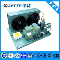 JZBF Low Noise Bitzer Semi-hermetic Refrigerant Compressor Air Cooled Condensing Unit for Refrigeration Freezer and Cold Rooms