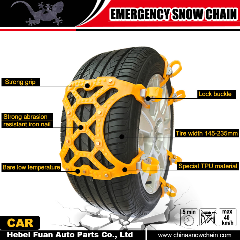 wholesale alibaba universal flexible cable tire chains tyre chain