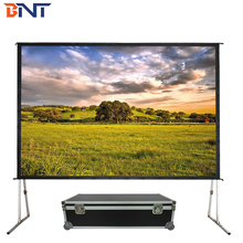 for large-scale outdoor performances 150inch projection screen fast fold screen <strong>projector</strong> screen