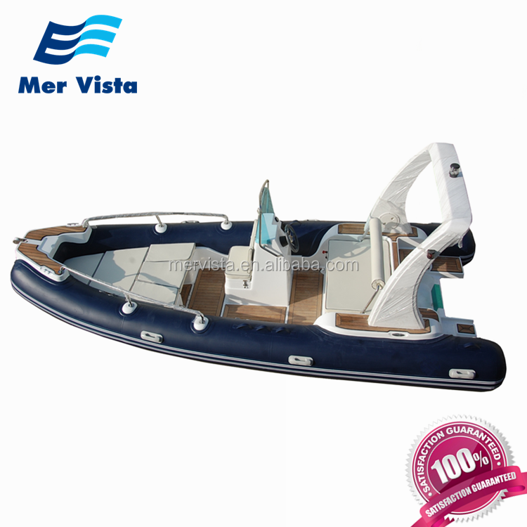 China 600 20ft Rib Inflatable Fiberglass Boat For Sale Malaysia
