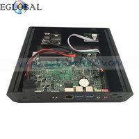 Eglobal Barebone System Intel 6th Gen Skylake i7 6500u Powerful Fanless Mini PC Mini Computer Support 3D Games DP +HD MI Port