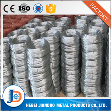 Galvanized iron wire 16 gauge /zinc coated wire 50kg per coil with bottom price