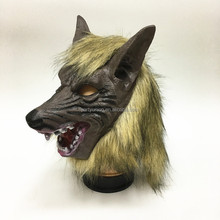 Halloween Full Wolf Head Mask