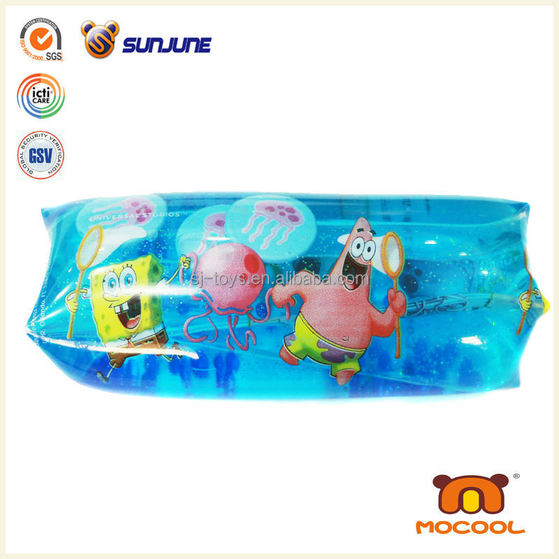 kids mini water game, tpr splippery toy from china