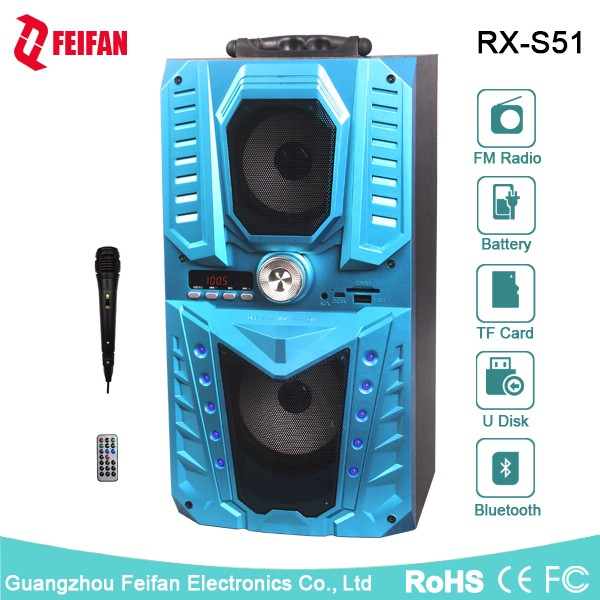 Top Sale 5.0 Inch Portable Bluetooth Speaker With Fm Radio RX-S51