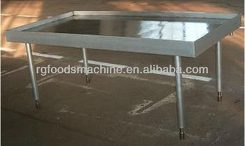 cooling table for hard candy