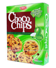 CHOCO CHIPS COOKIES WITH COCONUT BOX 300G/CHOCOLATE BISCUITS/CHOCOLATE COOKIES