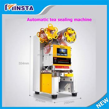 plastic cup sealing machine price