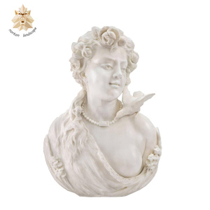 Hot handicraft stone busts statue for sale NTBS-038Y