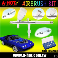NEW Airbrush Kit Compressor Nail Art Tattoo Dual Action Spray Air Brush Gun Set