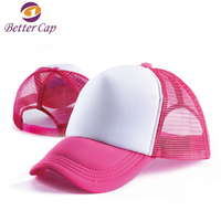 Wholesale good quality cheap price 5 panel sports baseball trucker cap and hat