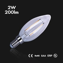 led filament bulb Edison type dimmable C35 light