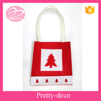 Top quality cheap price eco friendly hand sewing felt bag for Christmas decoration