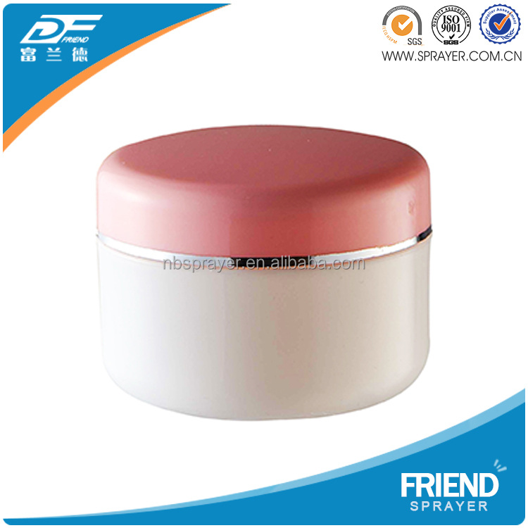 Friend Skin Care Acrylic 200ml Plastic Cosmetic Cream Jar/ Plastic Jar