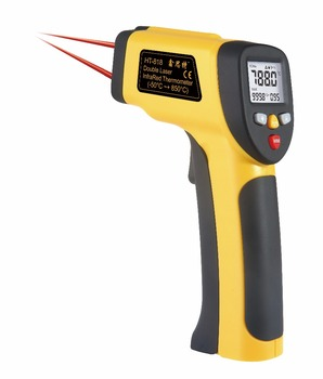 XINTEST HT-817 Double laser -50~650C Gun type non contact infrared thermometer