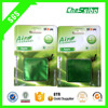 green apple scent membrane car freshener made in china factory